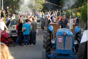 Rotary's Lostwithiel Carnival parade and Flora Dance
